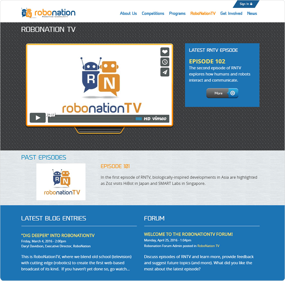 Robonation TV
