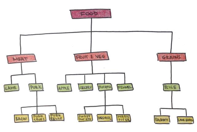 taxonomy of food